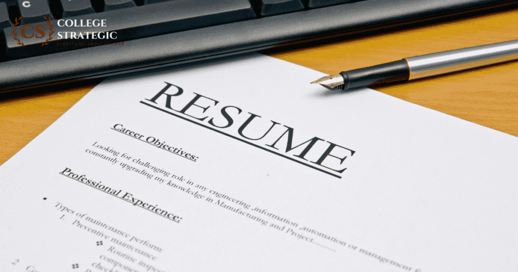 how to mention a research paper in your resume