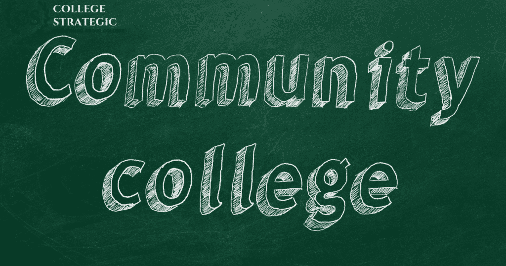 A n infographic written community college-Importance of a community college